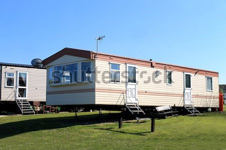 Static caravan Stock photo © speedfighter