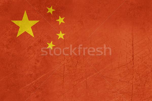 Foto d'archivio: Grunge · popoli · repubblica · Cina · bandiera · paese