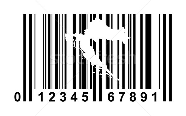 Croatia bar code Stock photo © speedfighter