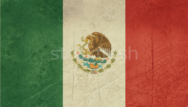 Grunge Mexico Flag Stock photo © speedfighter