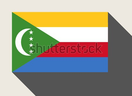Comoros flag Stock photo © speedfighter