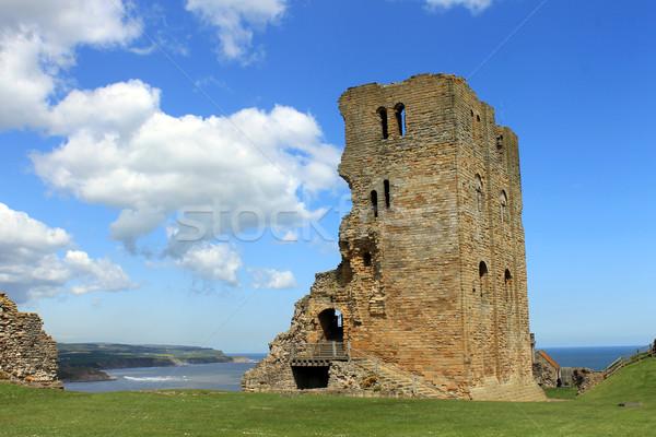 Scarborough Castle ruins Stock photo © speedfighter