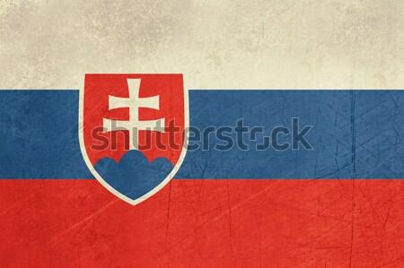 Grunge Slovakia Flag Stock photo © speedfighter