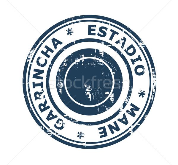 Estadio Mane Garrincha Stamp Stock photo © speedfighter
