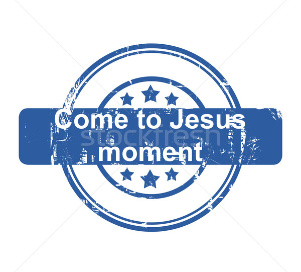 Jesus moment business stempel sterren Stockfoto © speedfighter