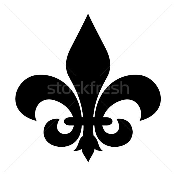 Fleur-de-lis symbol Stock photo © speedfighter