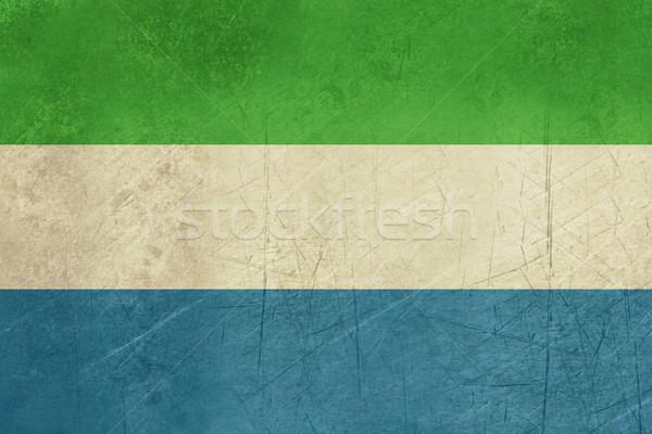 Grunge Sierra Leone Flag Stock photo © speedfighter