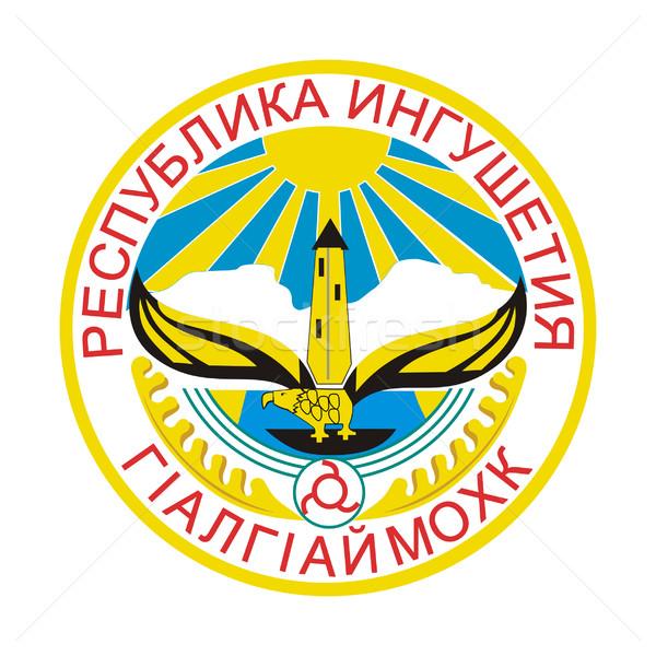 Ingushetia coat of arms Stock photo © speedfighter