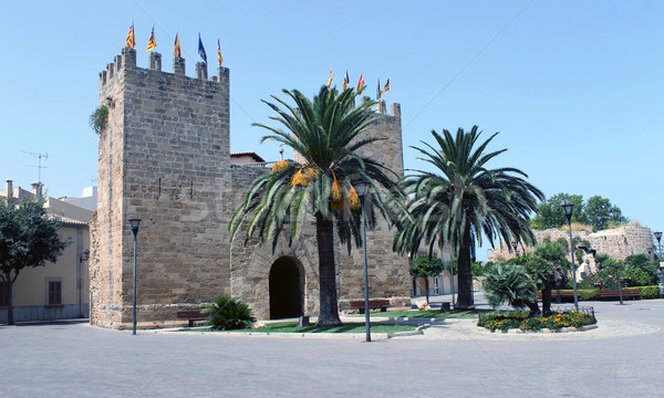 Fort in Alcudia old town Stock photo © speedfighter