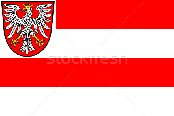 Frankfurt city flag Stock photo © speedfighter