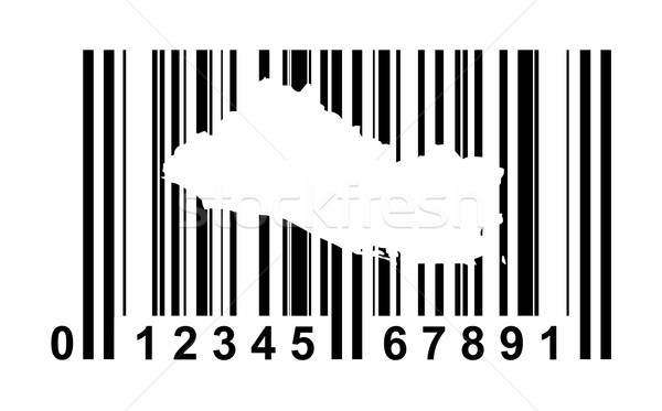 El Salvador Bar code Stock photo © speedfighter