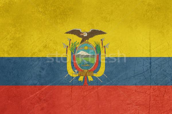 グランジ エクアドル フラグ 国 公式 色 ストックフォト © speedfighter