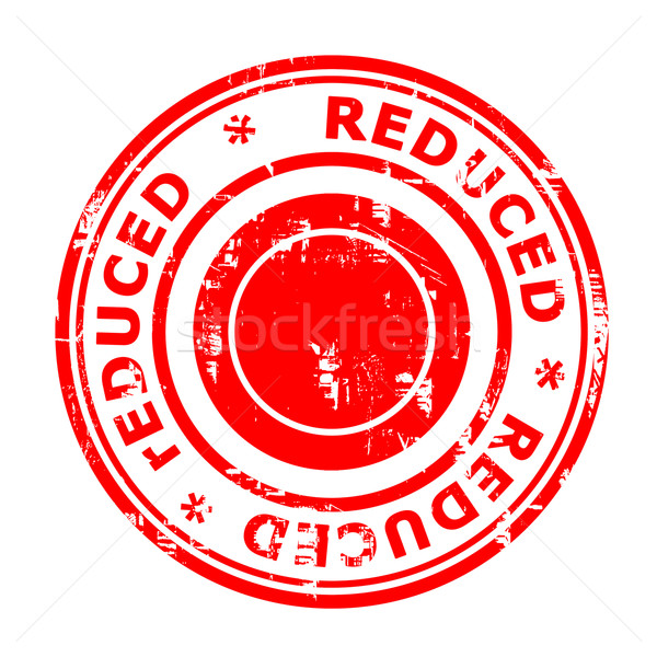 Reduced concept stamp Stock photo © speedfighter