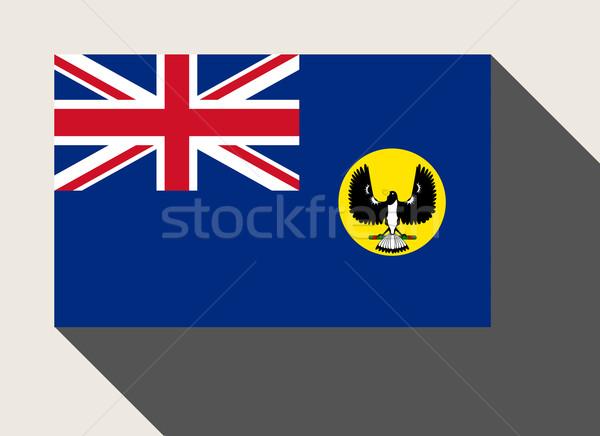 State of Southern Australia flag Stock photo © speedfighter