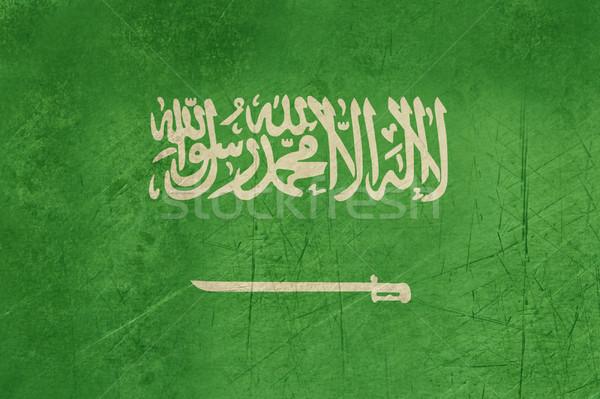 Grunge Saudi Arabia Flag Stock photo © speedfighter