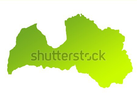 Old green paper map of Bolivia Stock photo © speedfighter