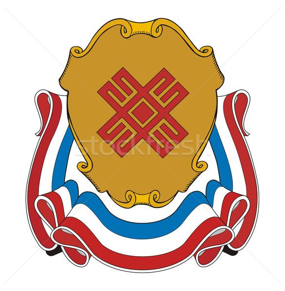 Mari El Coat of Arms Stock photo © speedfighter