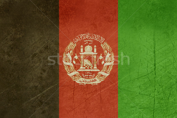Grunge Afghanistan Flag Stock photo © speedfighter