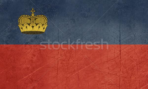 Grunge Leichtenstein flag Stock photo © speedfighter