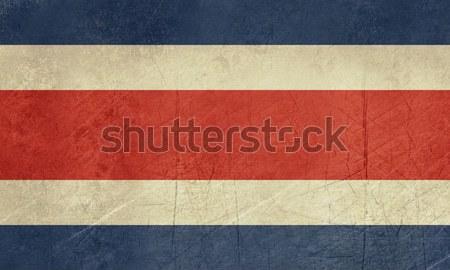 Grunge Costa Rica Flag Stock photo © speedfighter