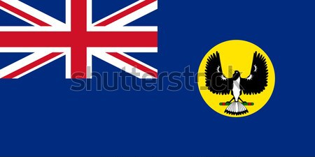 Grunge meridional Australia bandera Foto stock © speedfighter