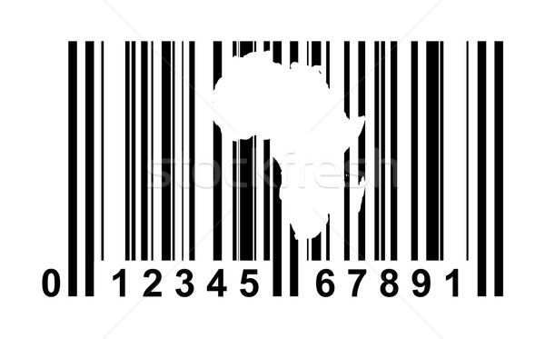 Africa Bar code Stock photo © speedfighter