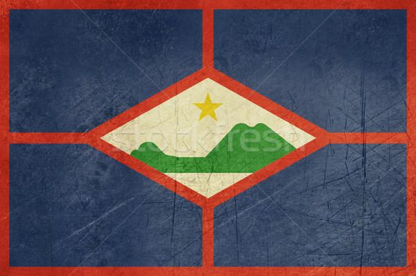Gringe Sint Eustatius Flag Stock photo © speedfighter