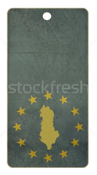 Albânia viajar membro europeu união país Foto stock © speedfighter