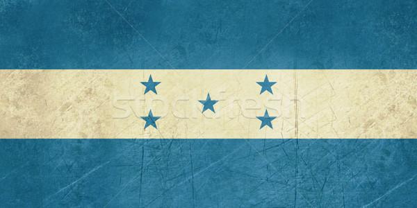 Grunge Honduras bandeira país oficial cores Foto stock © speedfighter