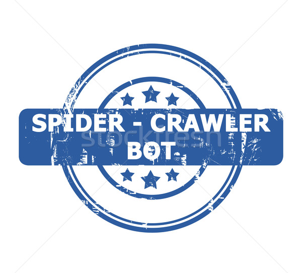 Spider Crawler Bot Stamp Stock photo © speedfighter