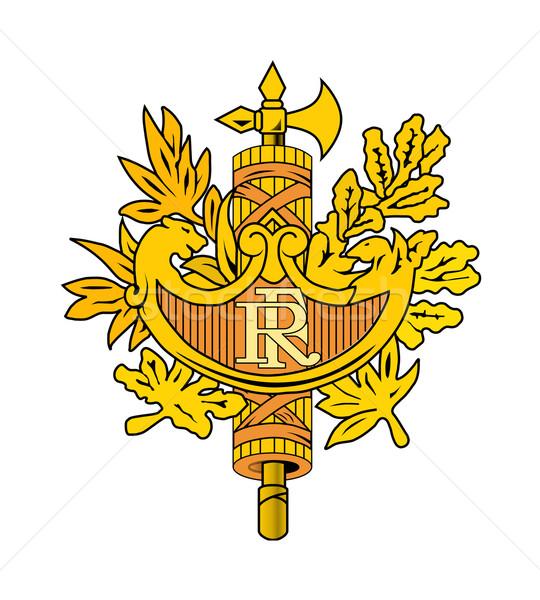 French emblem Stock photo © speedfighter