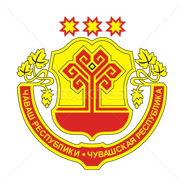 Chuvashia coat of arms Stock photo © speedfighter