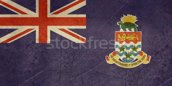Grunge Cayman Islands flag Stock photo © speedfighter