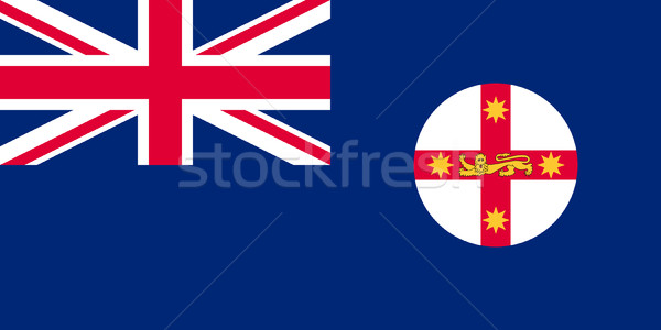 Flag of New South Wales Stock photo © speedfighter