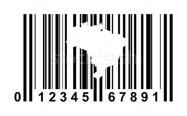 Brazil bar code Stock photo © speedfighter