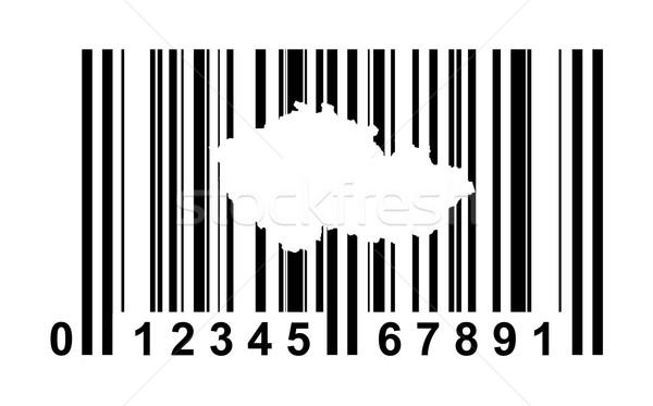 Czech Republic Bar code Stock photo © speedfighter