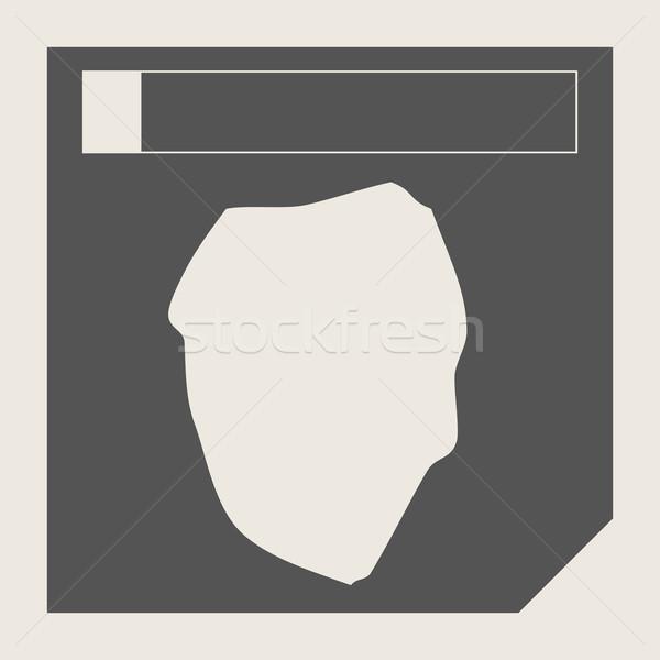 Sierra Leone map button Stock photo © speedfighter