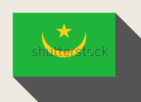Mauritania flag Stock photo © speedfighter