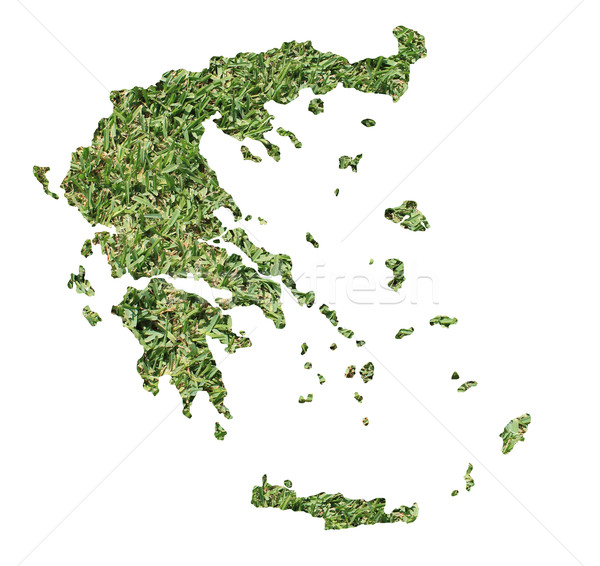 Bosnia Herzegovina ambiental mapa hierba verde ecológico naturaleza Foto stock © speedfighter