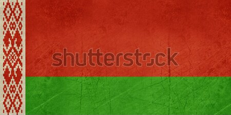 Stock photo: Grunge Belarus Flag