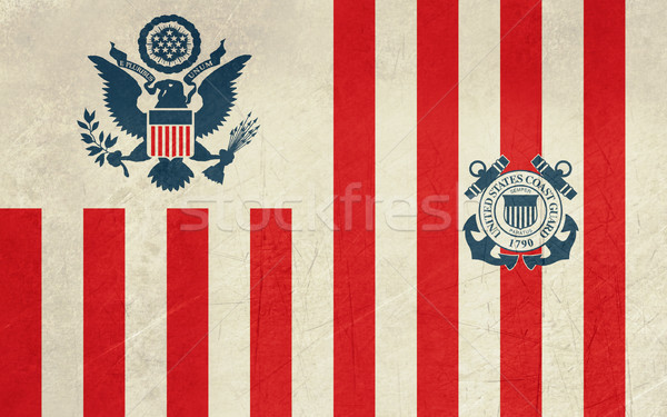 Grunge United States Navy Ensign Stock photo © speedfighter