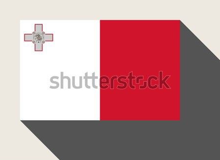 マルタ フラグ Webデザイン スタイル 地図 ボタン ストックフォト © speedfighter