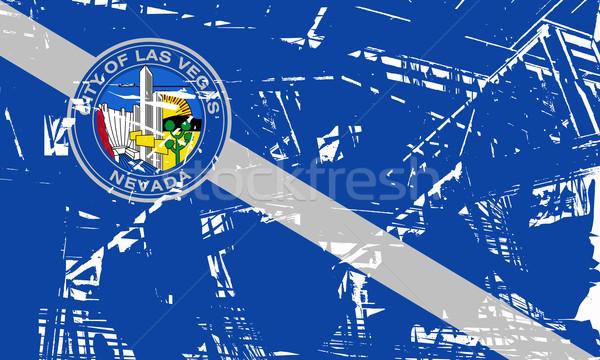 Las Vegas miasta banderą Nevada USA podróży Zdjęcia stock © speedfighter