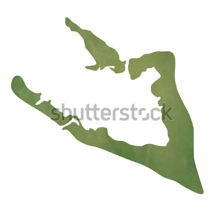 Newfoundland map on green paper Stock photo © speedfighter