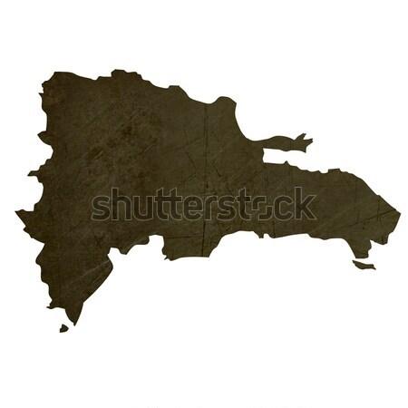 темно карта Грузия изолированный белый Сток-фото © speedfighter