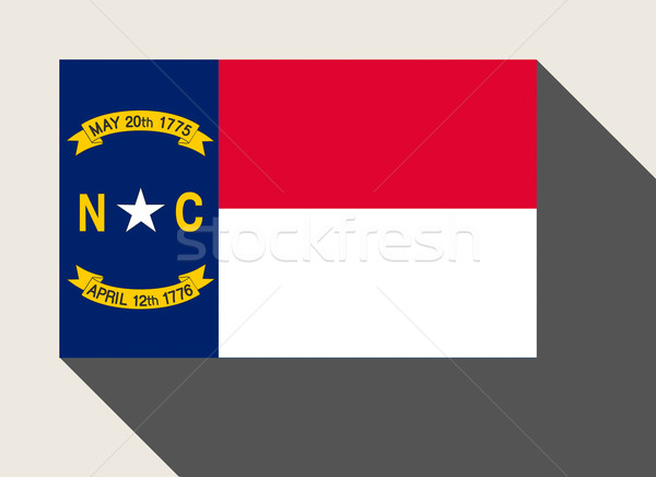 American State of North Carolina flag Stock photo © speedfighter