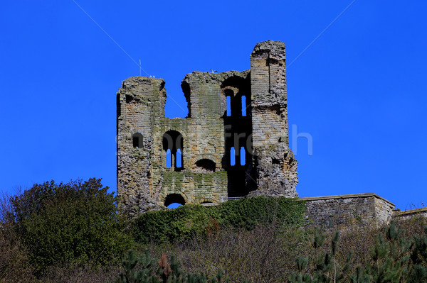 Castello rovine settentrionale yorkshire Inghilterra cielo Foto d'archivio © speedfighter