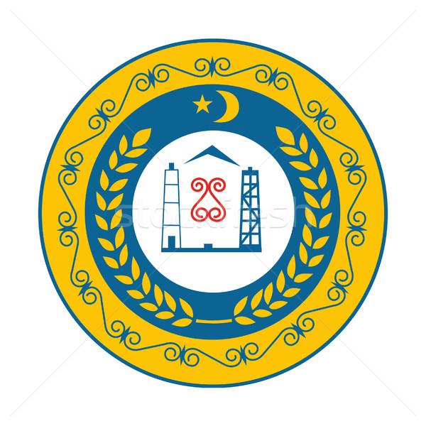 Chechnya coat of arms Stock photo © speedfighter