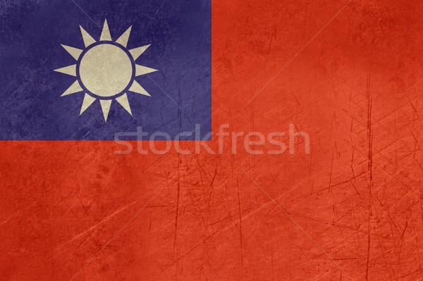 ストックフォト: グランジ · 共和国 · 中国 · フラグ · 国 · 公式