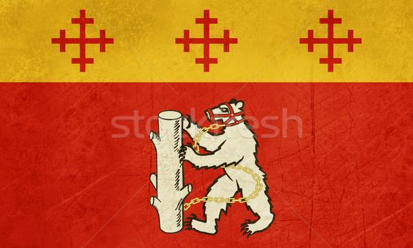 Warwickshire County flag in England Stock photo © speedfighter